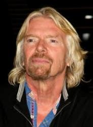 Sir Richard Branson ... exciting technology.