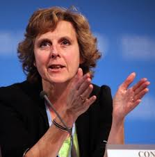 Connie Hedegaard ... world is watching.