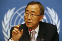 Ban Ki-moon ... sustainability essential.