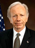 Senator Joe Lieberman .. indepedence and trust gets cap and trade bill up front